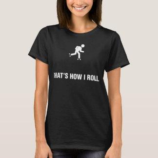 T-shirt Patinage de rouleau