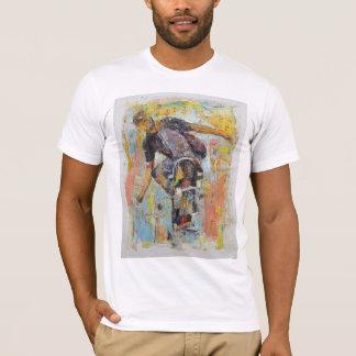 T-shirt Patineur