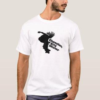 T-shirt Patineur de ville de chocolat