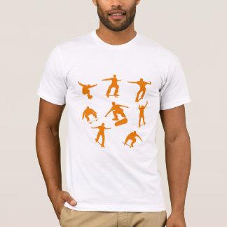 T-shirt Patineurs oranges