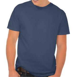 T-shirt patriotique d étoile vintage de corps