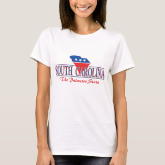 T-shirt patriotique de la Caroline du Sud