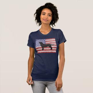 T-shirt patriotique de labrador retriever 4