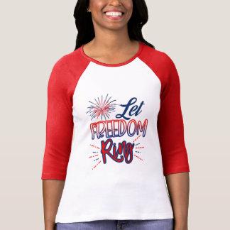 T-shirt Patriotique * laissez l'anneau de liberté * 4