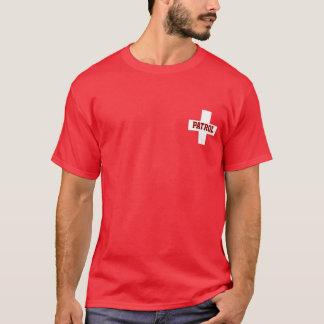 T-shirt Patrouille - croix de personnaliser