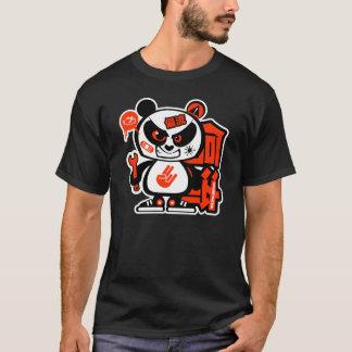 T-shirt Patrouille folle de dérive - panda agressif
