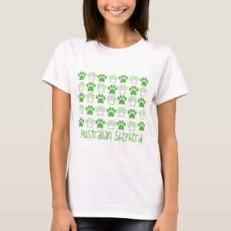 T-shirt Patte par le berger d'Australien de patte