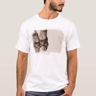 T-shirt Pattes de chiens