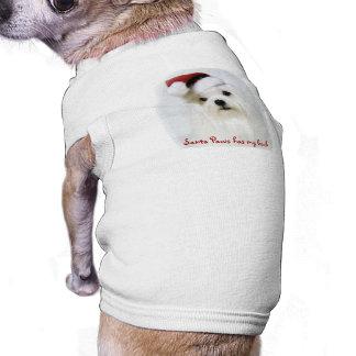 T-shirt Pattes de Père Noël