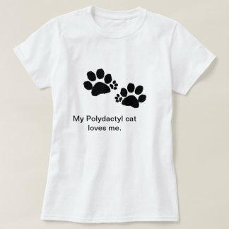 T-shirt - pattes Polydactyl de chat - femmes