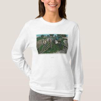 T-shirt Paul Revere informant le générateur Israël Putnam