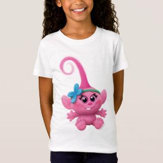 T-Shirt Pavot de bébé des trolls |