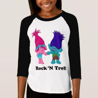 T-shirt Pavot des trolls | et branche - roche 'N Troll