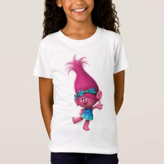 T-Shirt Pavot des trolls | - pavot de la Reine