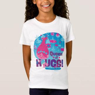 T-Shirt Pavot des trolls | - reine des étreintes !