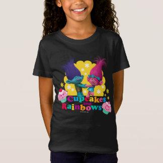 T-Shirt Pavot et branche des trolls | - petits gâteaux et