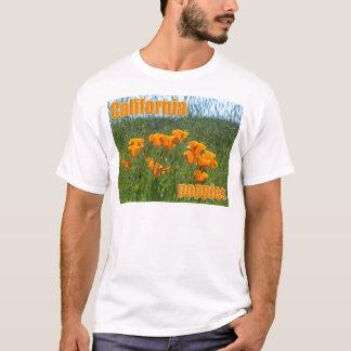 T-shirt Pavots de Californie
