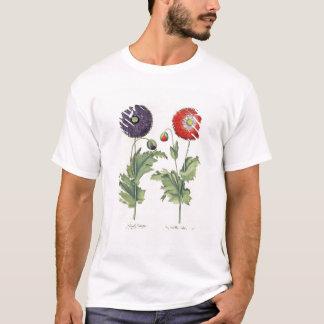 T-shirt Pavots : incarnato de multiplici du flore
