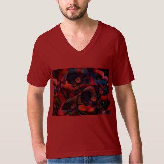 T-shirt Pavots noirs