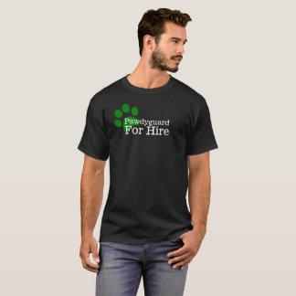 T-shirt Pawdyguard pour la chemise de location (garde du