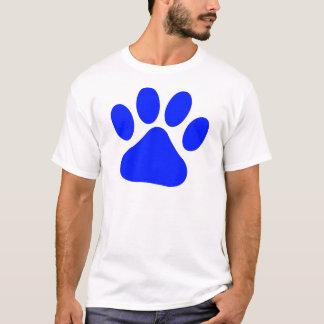 T-shirt Pawprint bleu