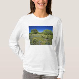T-shirt Pays de colline du Texas, le Texas, bas