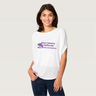 T-shirt Pays de vin la Californie