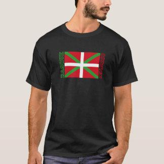 T-shirt Pays et ikurriña Basques,