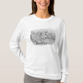 T-shirt Paysage alpin, 1553