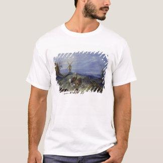 T-shirt Paysage avec deux moulins à vent, 1612