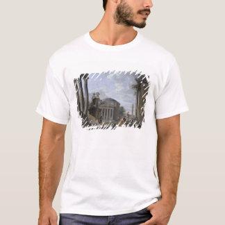 T-shirt Paysage avec les ruines romaines
