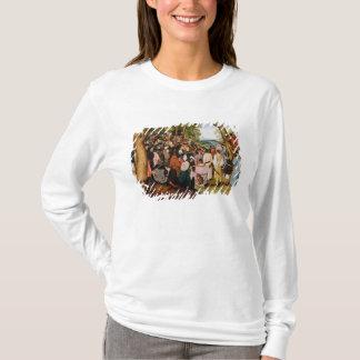 T-shirt Paysage avec St John le baptiste prêchant