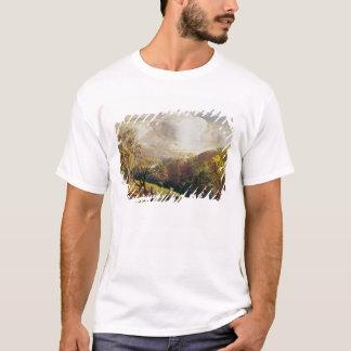T-shirt Paysage, chiffres et bétail