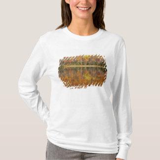 T-shirt Paysage d'automne avec le lac, Vermont, Etats-Unis