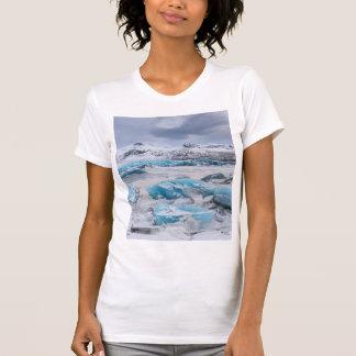 T-shirt Paysage de glace de glacier, Islande
