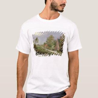 T-shirt Paysage de village