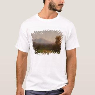 T-shirt Paysage du fleuve Hudson, c.1860-5 (huile sur la