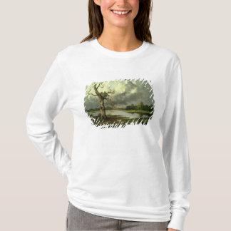 T-shirt Paysage français de rivière