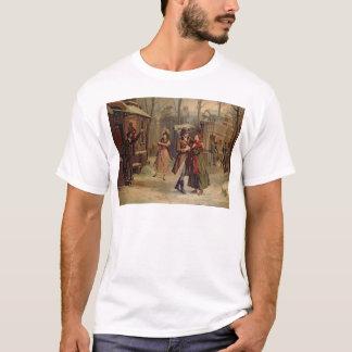 T-shirt Paysage pour la scène avec Mimi et Rodolfo