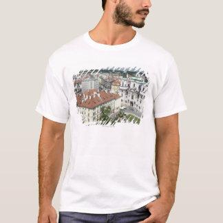 T-shirt Paysage urbain de Prague historique, République