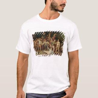 T-shirt Paysans se querellant en dehors d'une taverne