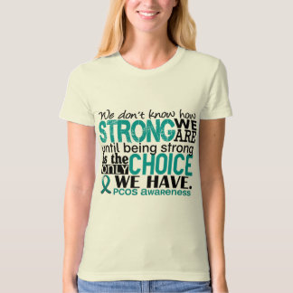 T-shirt PCOS comme nous forts sommes