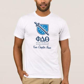 T-shirt PDT - Empilé devenu plus grand Blue1