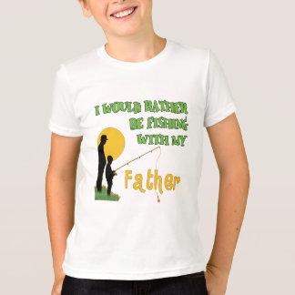 T-shirt Pêche avec le père