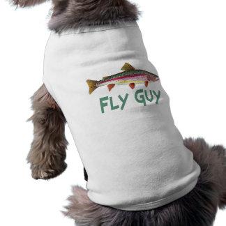 T-shirt Pêche de mouche à truite arc-en-ciel