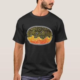 T-shirt Pêche de mouche de truite de ruisseau