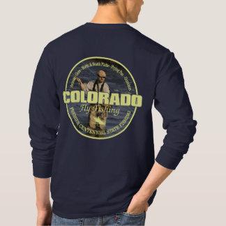 T-shirt Pêche de mouche du Colorado