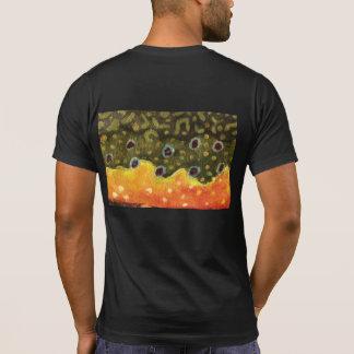 T-shirt Pêche de mouche pour la truite de ruisseau