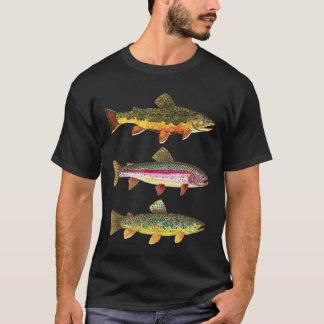 T-shirt Pêche de truite
