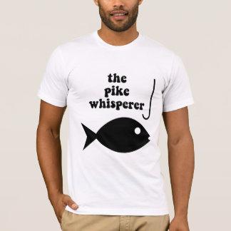 T-shirt pêche de whisperer de brochet